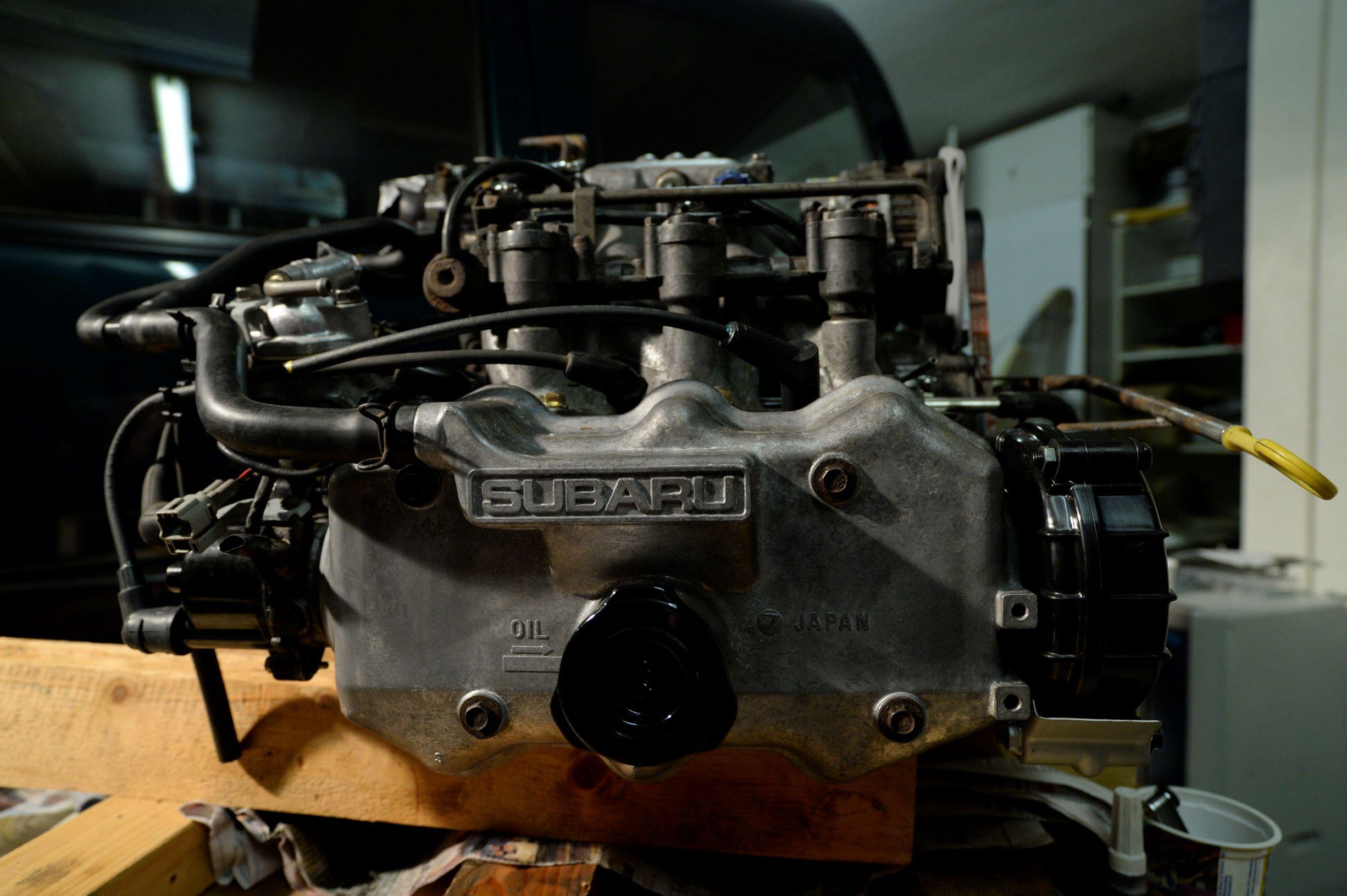 De EF12 zit weer inelkaar!